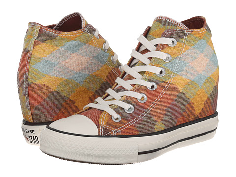 Converse - Chuck Taylor All Star Missoni Lux Hi (Auburn/Yellow/Egret) Women's Classic Shoes