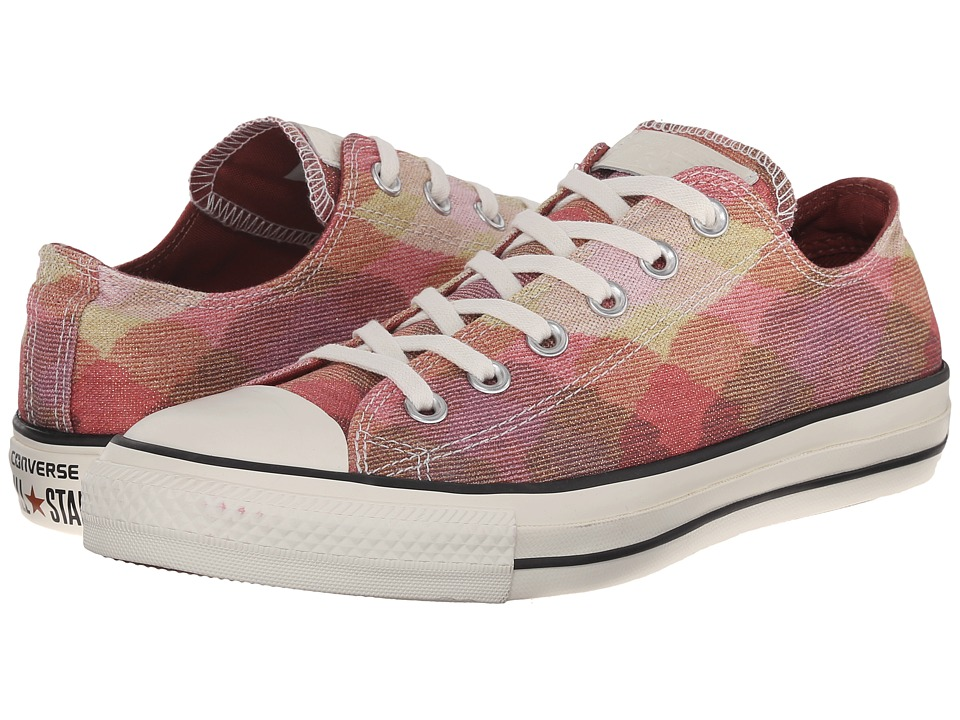 Converse - Chuck Taylor(r) All Star(r) Missoni Ox (Pink/Aurburn/Egret) Classic Shoes