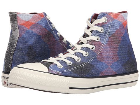 Converse - Chuck Taylor All Star Missoni Hi (Multi/Auburn/Egret) Classic Shoes