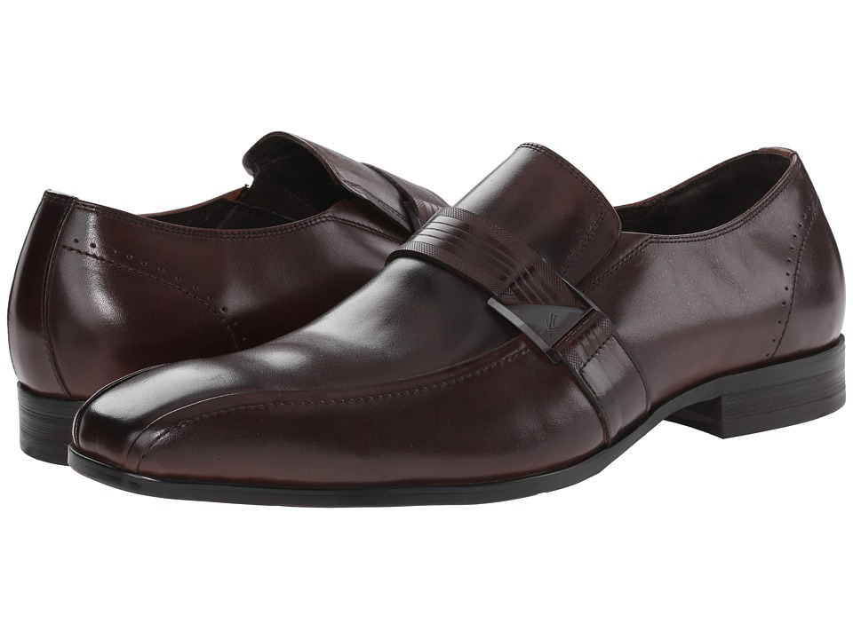 Kenneth Cole New York - U Name It (Brown) Men's Slip-on Dress Shoes