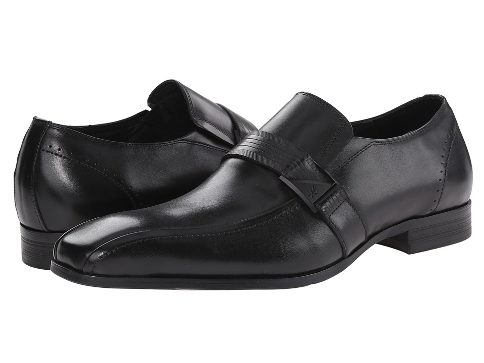 Kenneth Cole New York - U Name It (Black) Men's Slip-on Dress Shoes