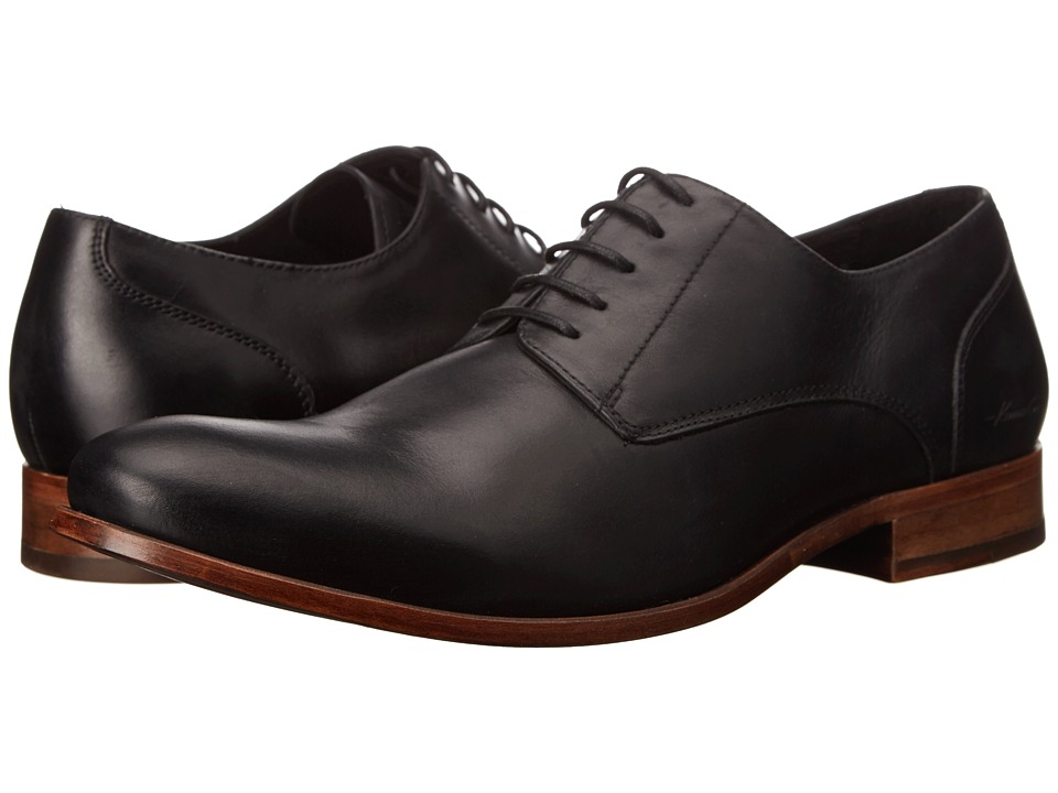 Kenneth Cole New York - Pa-Raid (Black) Men's Plain Toe Shoes