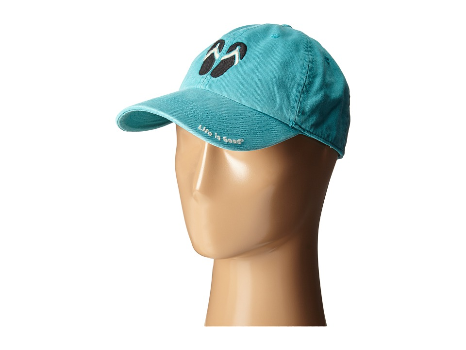 Life is good - Chill Cap (Teal Blue 2) Caps