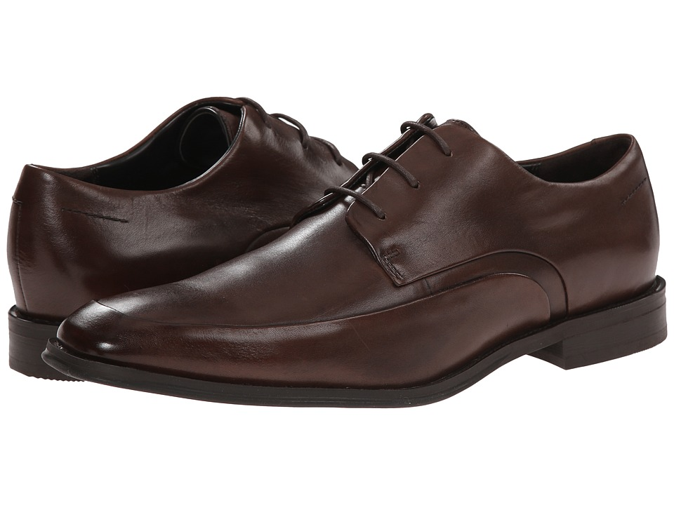Kenneth Cole New York - A-Shore (Brown) Men's Plain Toe Shoes