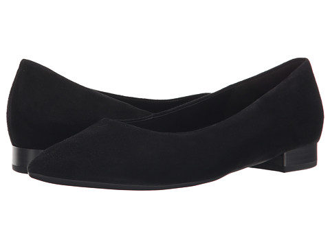 Gabor - Gabor 31.200 (Black Samtchevreau) Women's Dress Flat Shoes
