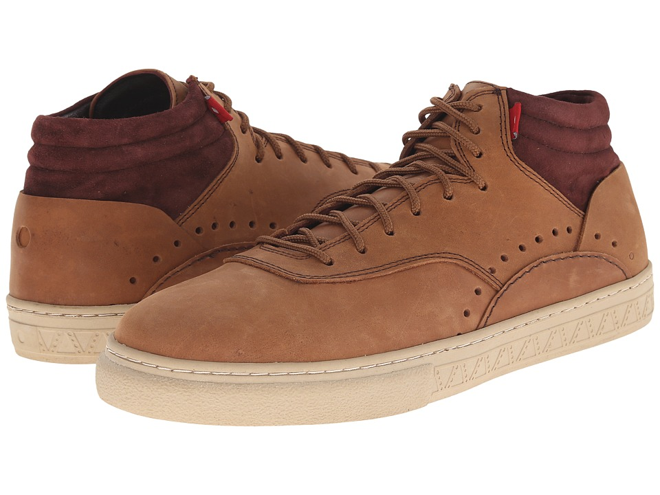 Oliberte - Kavango (Antique Brown Nubuck) Men's Lace up casual Shoes
