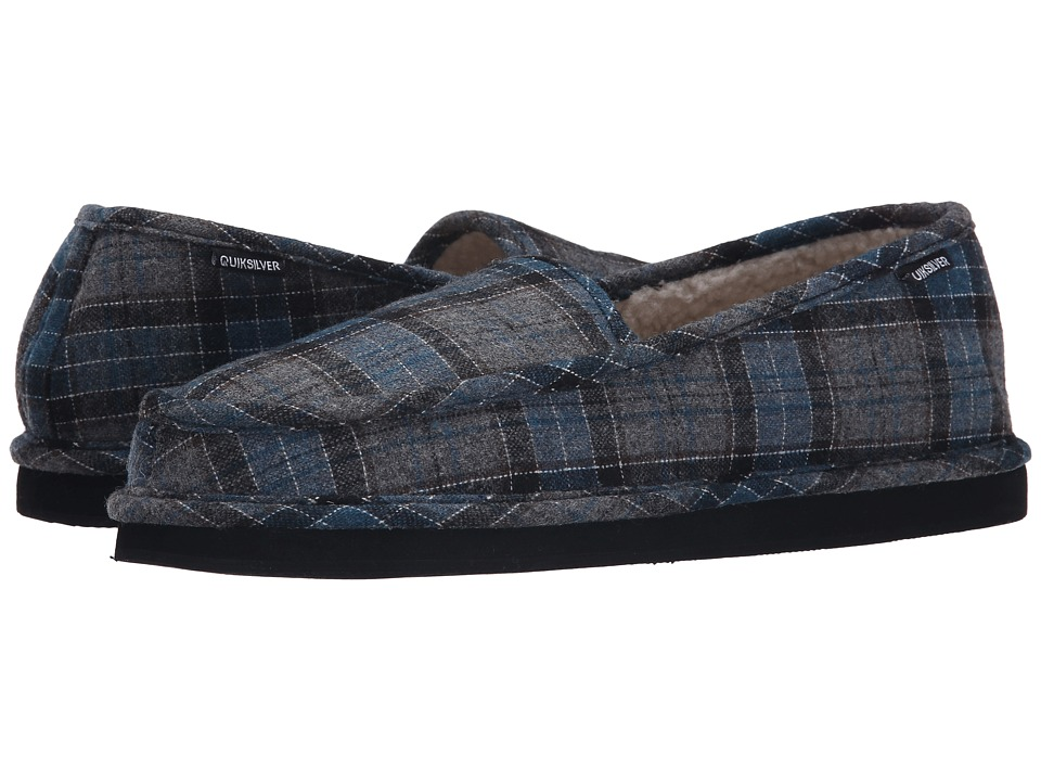 Quiksilver - Surf Check '15 (Grey/Blue/Black) Men's Slip on Shoes