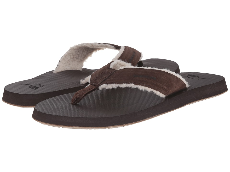 Quiksilver - Monkey Fluff (Brown/Brown/Brown) Men's Sandals