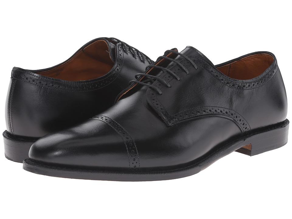 Allen Edmonds - Yorktown (Black) Men's Lace Up Cap Toe Shoes