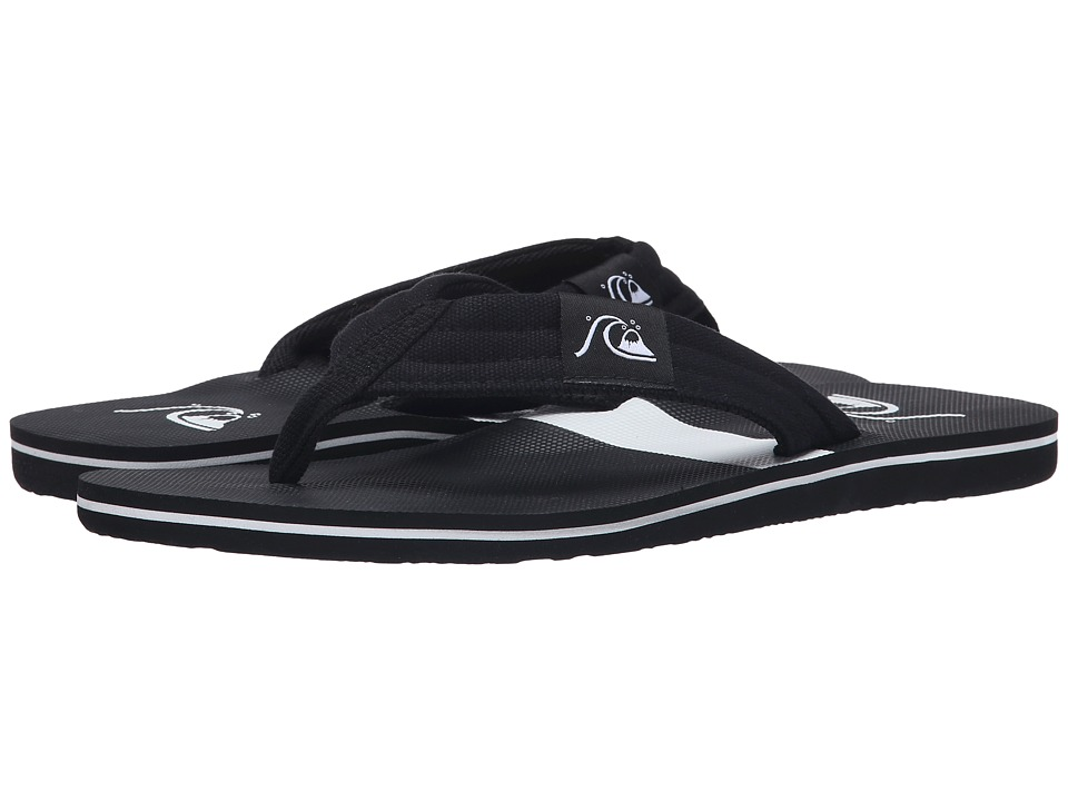 Quiksilver - Molokai Layback (Black/Black/White) Men