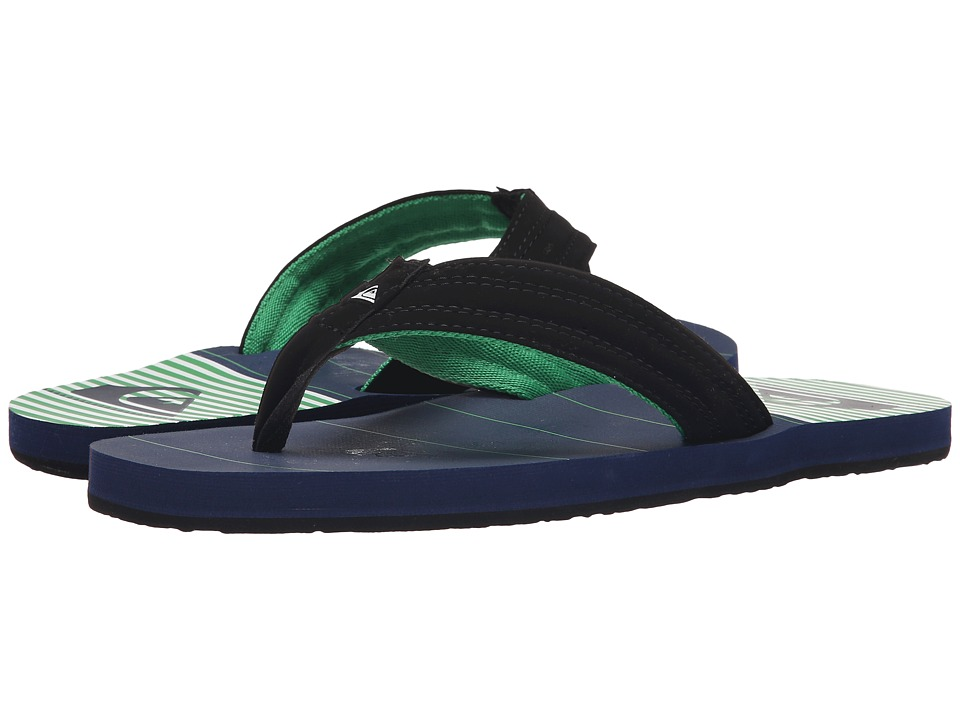 Quiksilver - Basis (Blue/Green/White) Men's Sandals