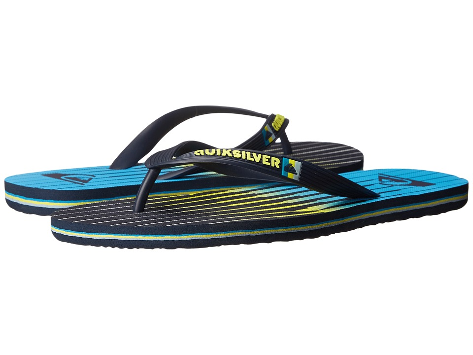 Quiksilver - Molokai Equalizer (Blue/Blue/Yellow) Men's Sandals