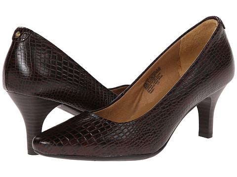 Rockport - Comfort Craving Pilot Path Mt (Brown Croco) High Heels