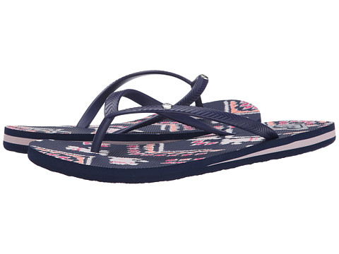 Roxy - Bermuda (Black Print) Women's Sandals