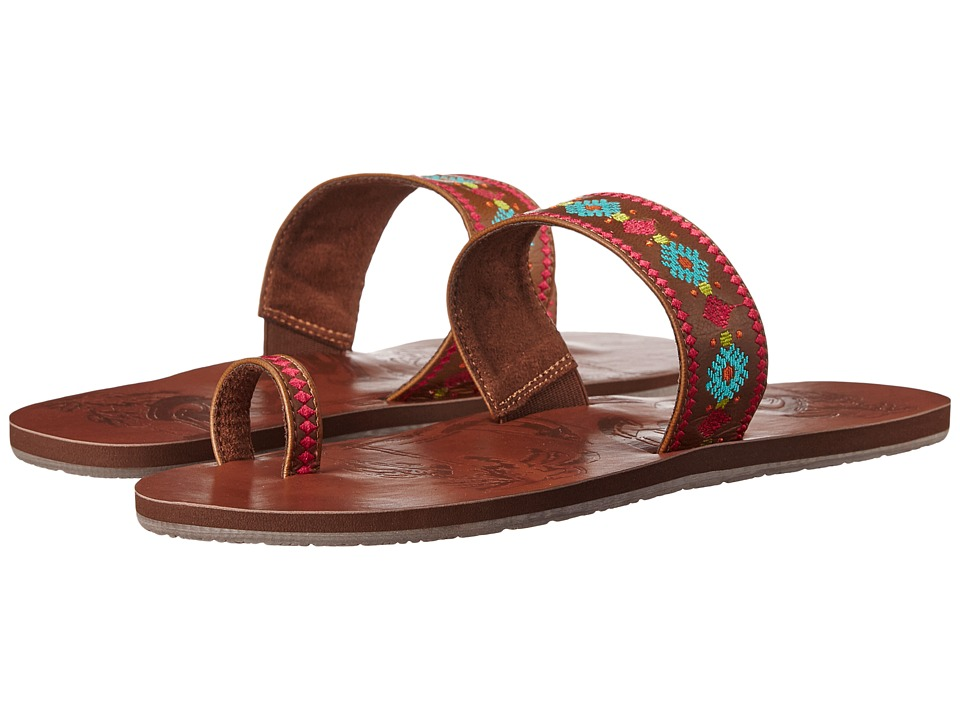 Roxy - Cameroon (Brown) Women's Sandals