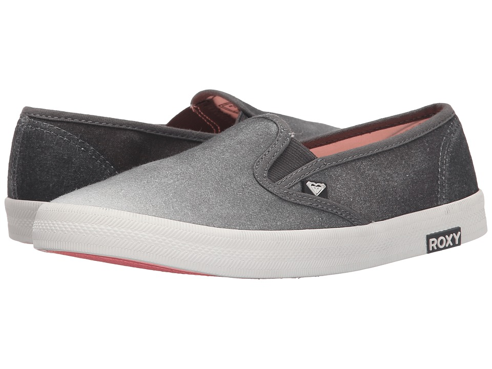 Roxy - Redondo II (Stone) Women's Slip on Shoes