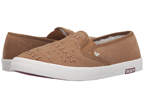Roxy - Seacliff II (Tan) Women's Slip on Shoes
