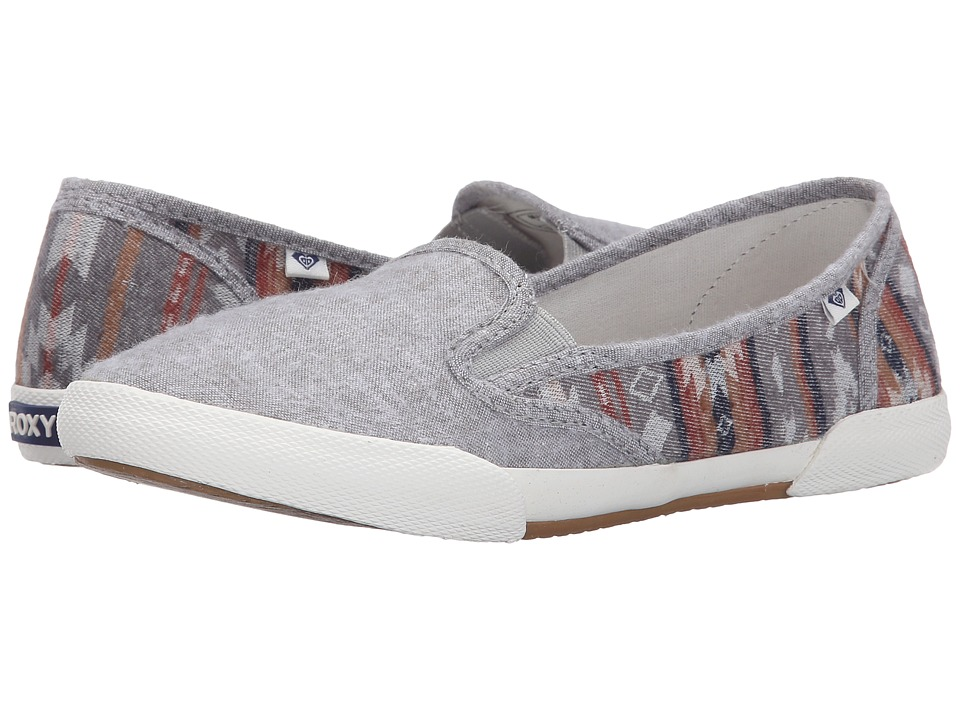 Roxy - Malibu II (Light Grey) Women