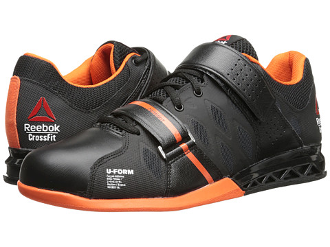 Reebok - Crossfit Lifter Plus 2.0 (Black/Flux Orange/White) Men