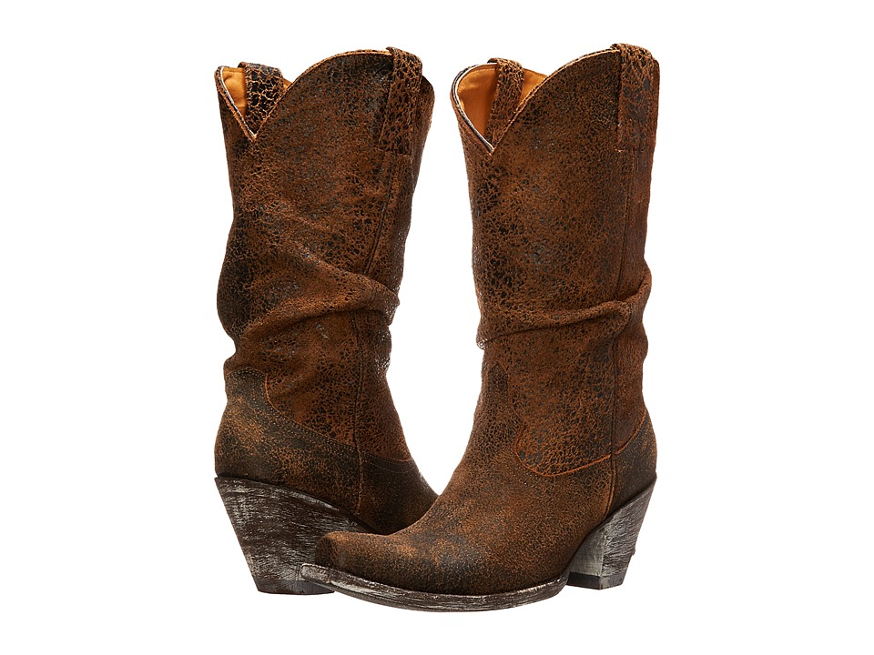 Old Gringo Sharpei (Rust) Cowboy Boots