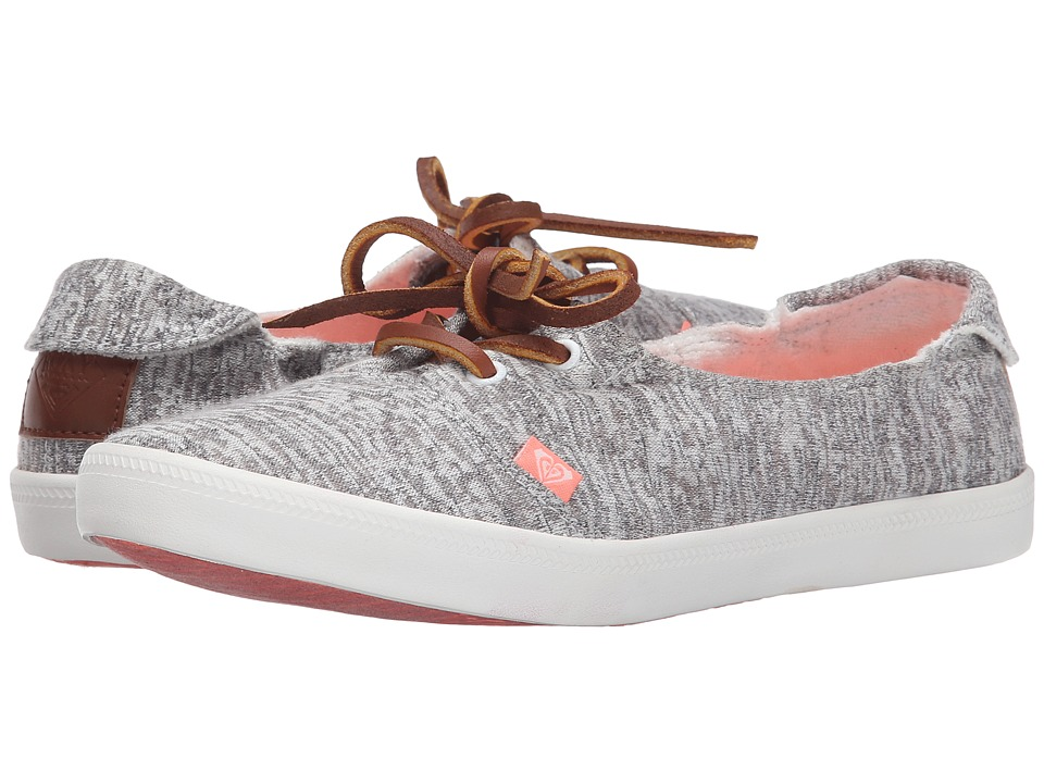 Roxy - Kayak (Light Grey) Women's Slip on Shoes