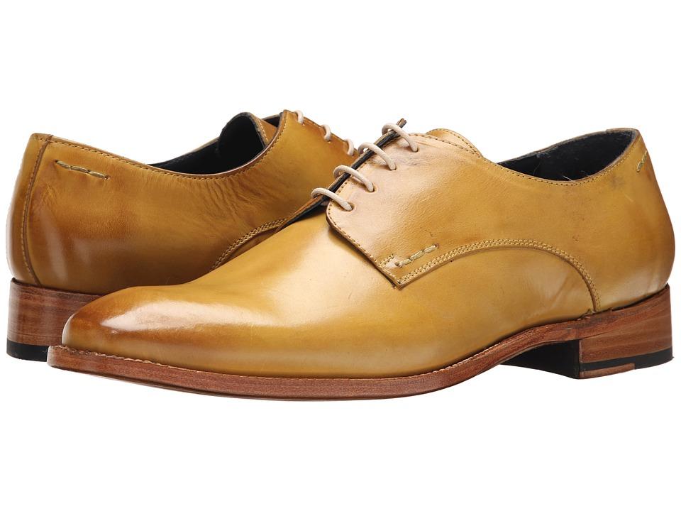 Messico - Simon Welt (Lemon Green Leather) Men's Flat Shoes