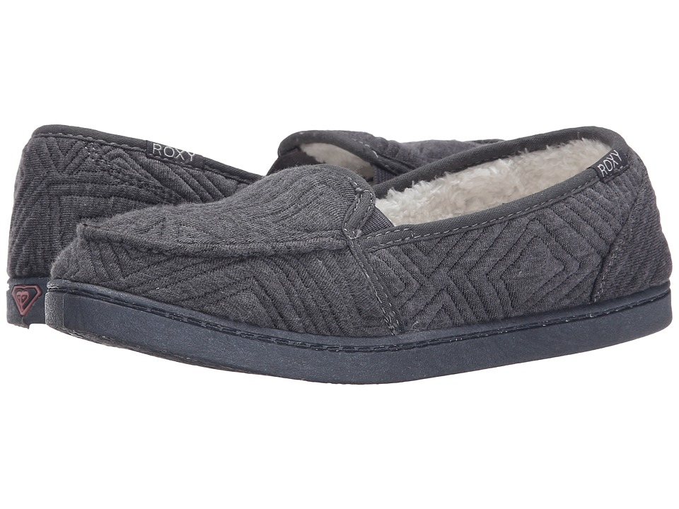 Roxy - Lido Wool III (Black) Women's Slip on Shoes
