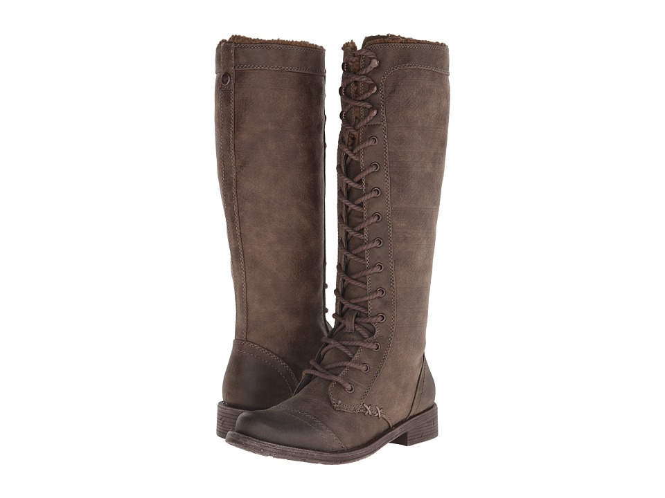 Roxy - Breckenridge (Brown) Women's Lace-up Boots