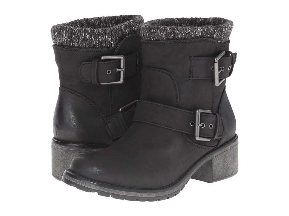 Roxy - Scout (Black) Women's Pull-on Boots