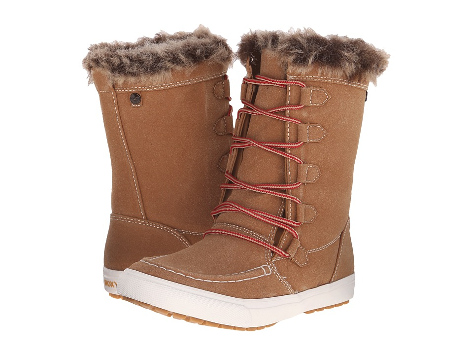 Roxy - Porter (Brown) Women's Lace-up Boots