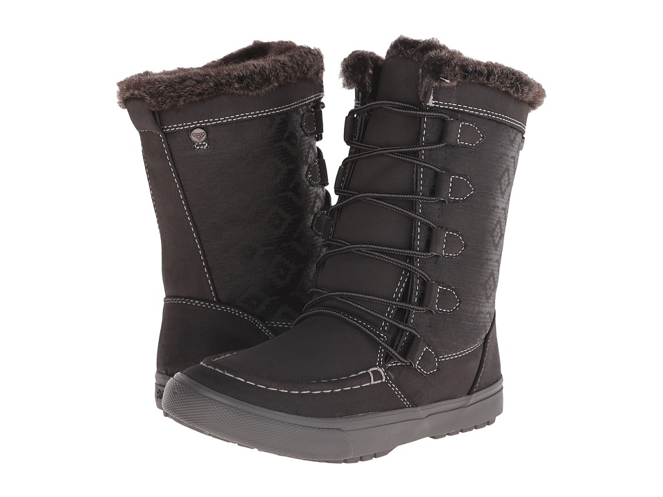 Roxy - Porter (Charcoal) Women's Lace-up Boots