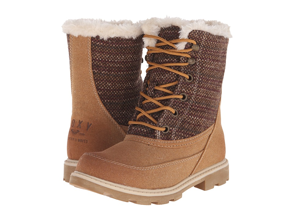Roxy - Caballero (Tan) Women's Lace-up Boots