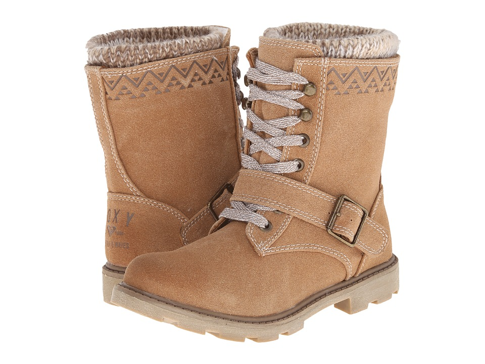 Roxy - Tahoe (Tan) Women's Lace-up Boots