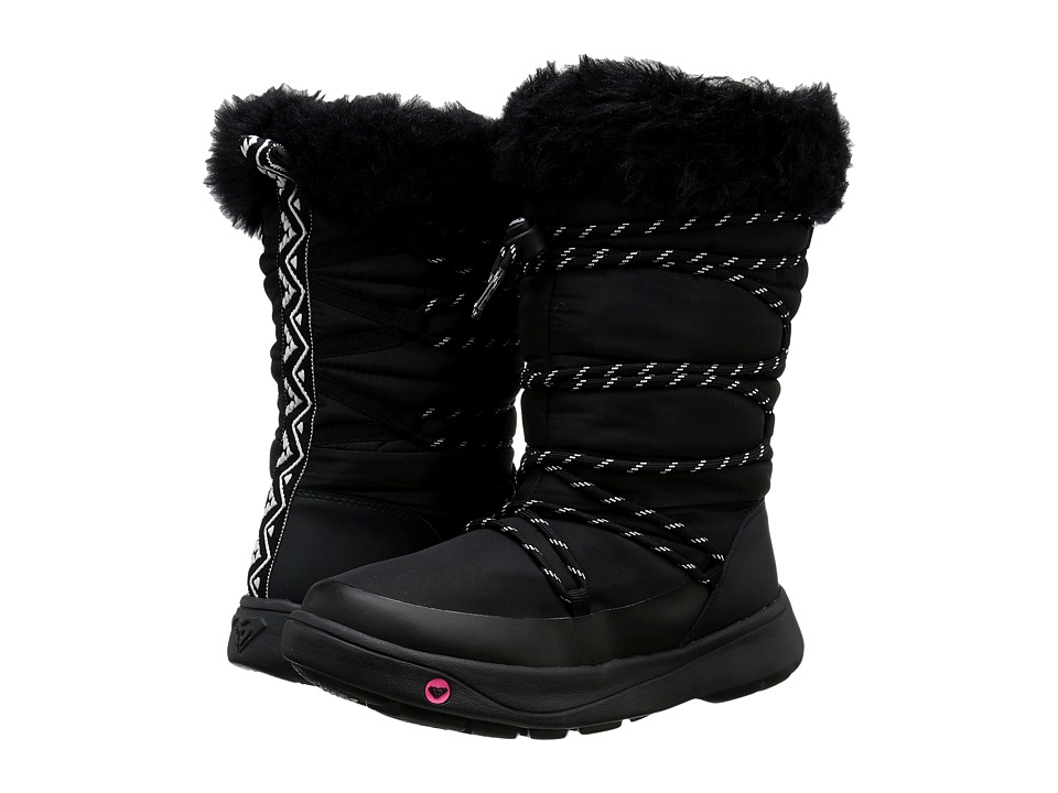 Roxy - Summit (Black) Women's Pull-on Boots