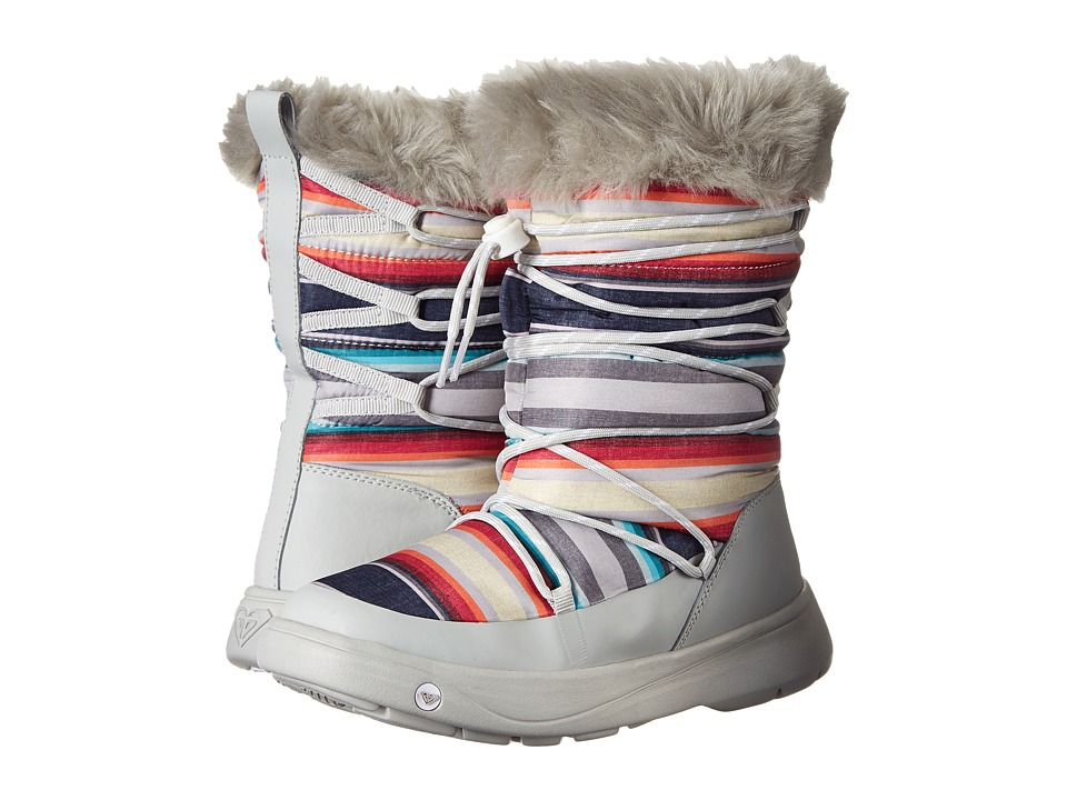 Roxy - Summit (Grey) Women's Pull-on Boots