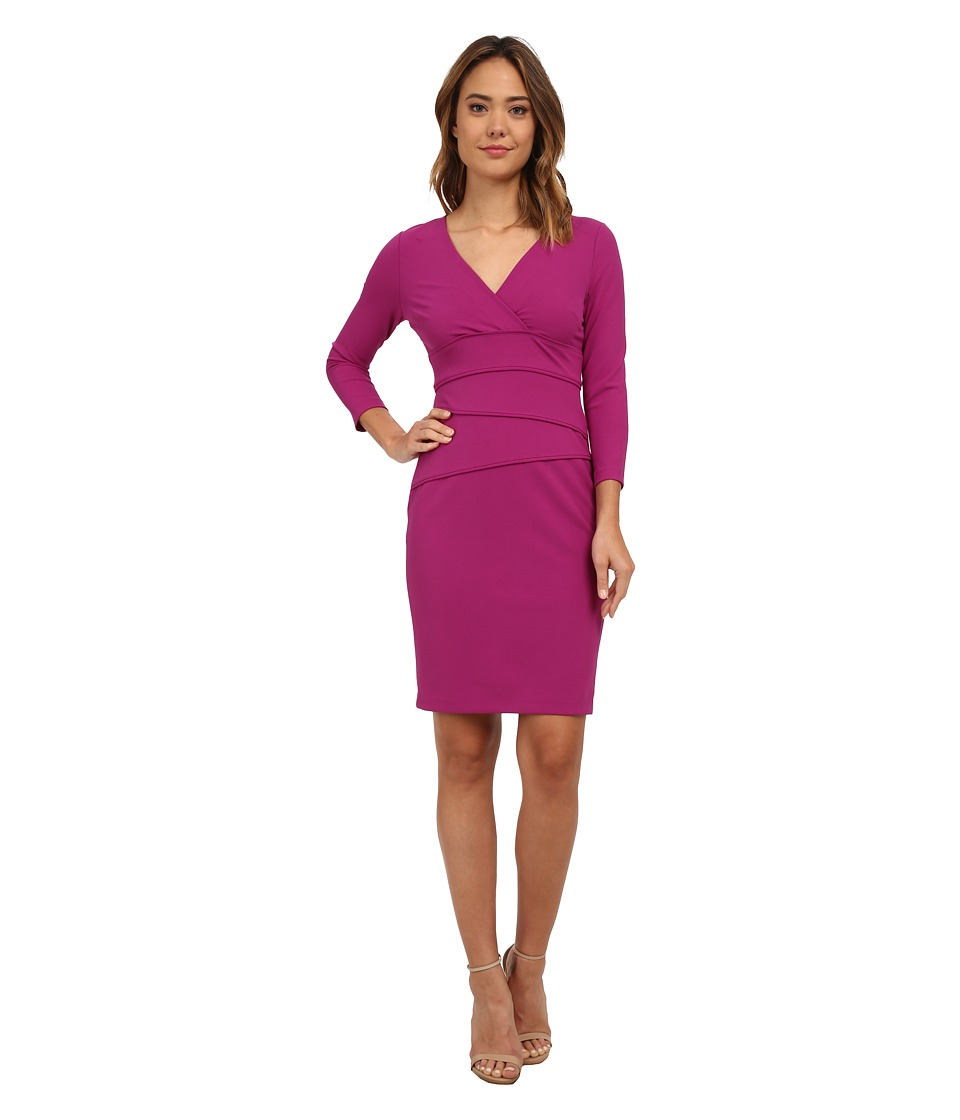 NYDJ - Janette Seamed Dress (Berry) Women's Dress