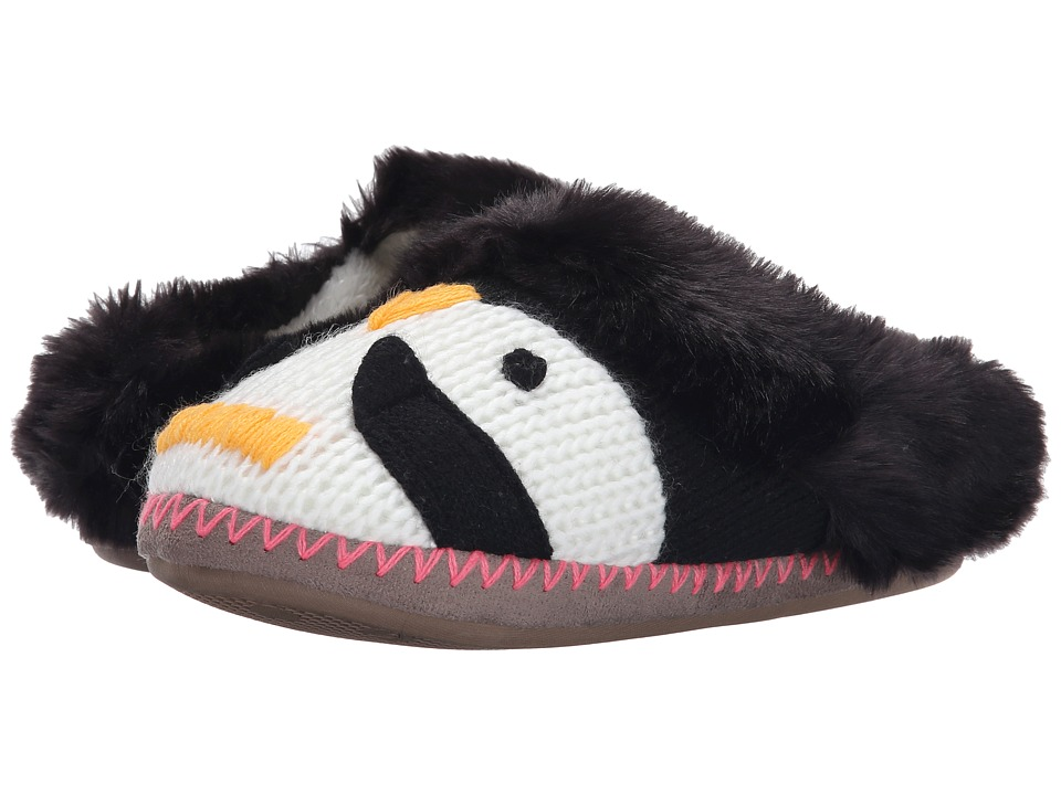 Roxy - Gingersnap (Black/White) Women's Slippers