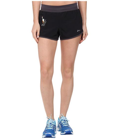 ASICS - NYC Marathon Distance Short (Black/Steel) Women's Shorts