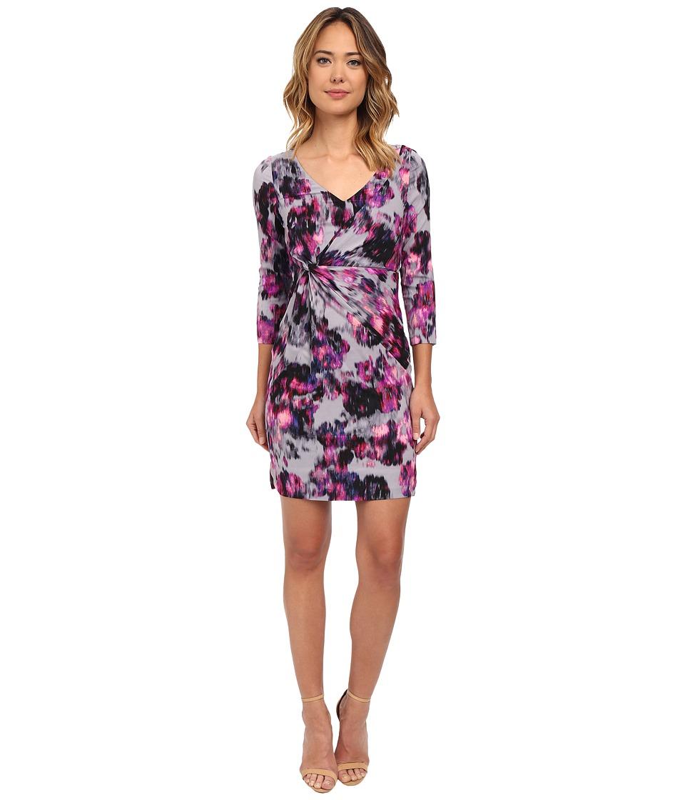 NYDJ - Sylvia Tifany Post Dress (Berry Tweed) Women's Dress