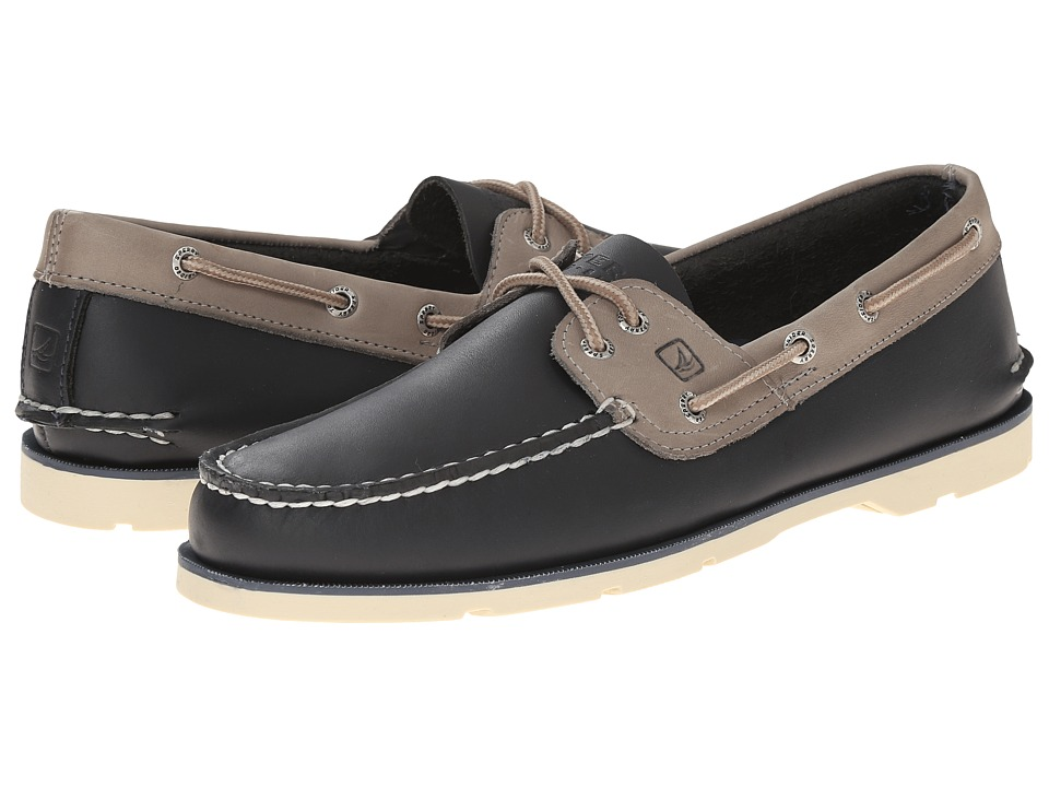 Sperry Top-Sider - Leeward 2-Eye (Navy/Ash) Men's Shoes