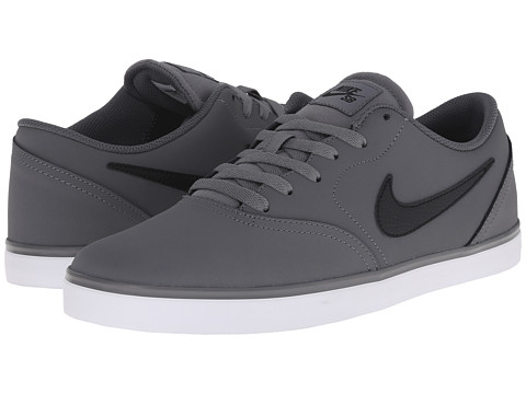 Nike SB - Check Nubuck (Cool Grey/Dark Grey/White/Black) Men