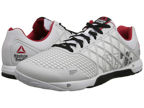 Reebok - Crossfit Nano 4.0 (Porcelain/Black/White/Excellent Red) Men's Cross Training Shoes