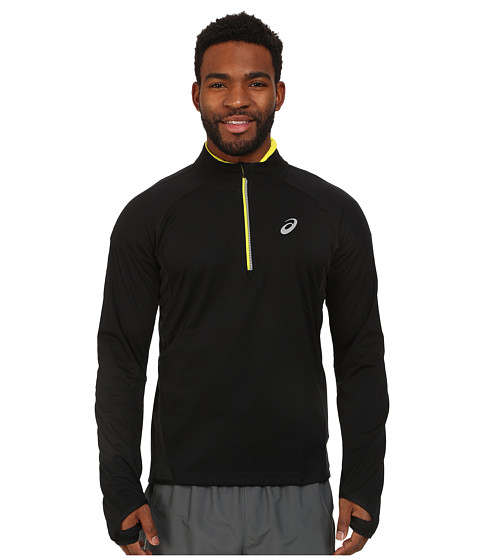 ASICS - Speed Softshell Top (Performance Black) Men's Short Sleeve Pullover