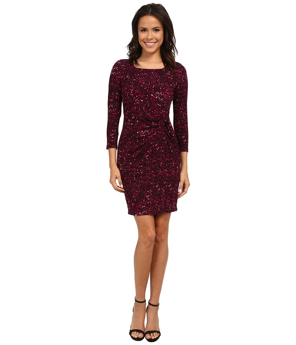 NYDJ - Emerald Knot Dress (Violet) Women's Dress