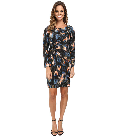 NYDJ - Gemma Melting Ikat Dress (Melting Ikat) Women's Dress