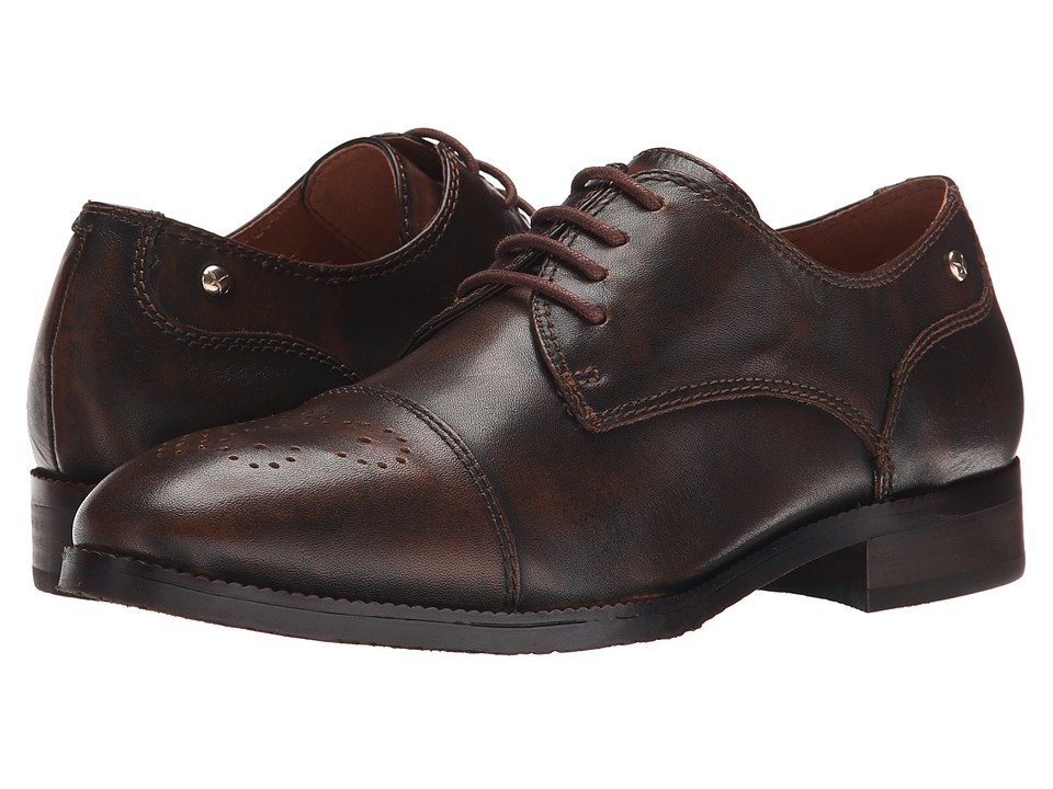 Pikolinos - Royal W4D-4538AA (Brandy) Women's Shoes