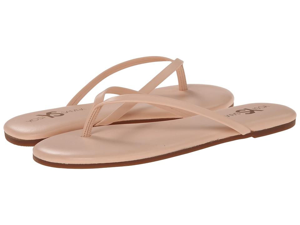 Yosi Samra - Roee Flip Flop (Ballet Pink) Women's Sandals