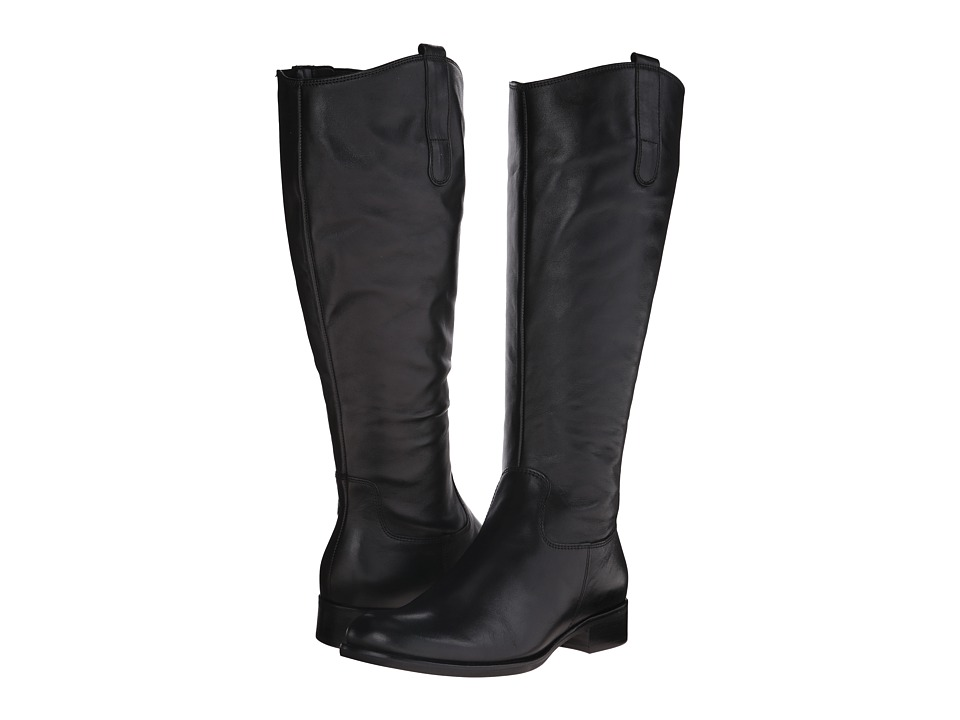 Gabor - Gabor 31.637 (Black Foulardcalf) Women's Dress Pull-on Boots