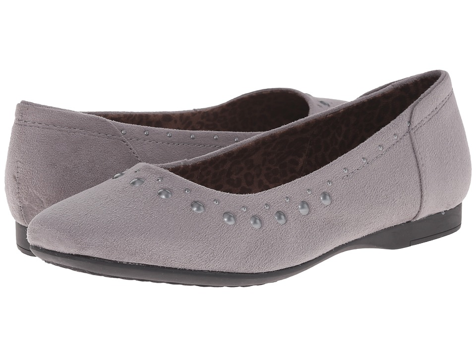 Hush Puppies - Meila Callies (Dark Grey Microfiber) Women