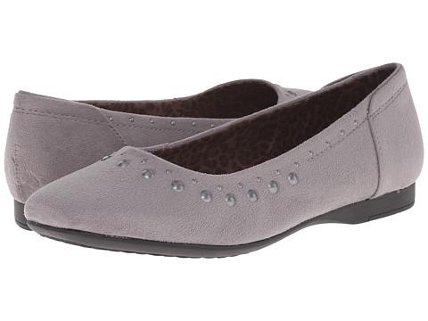 Hush Puppies - Meila Callies (Dark Grey Microfiber) Women's Flat Shoes